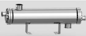 卫生级双管板换热器